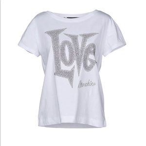 Love Moschino t shirt new with tag